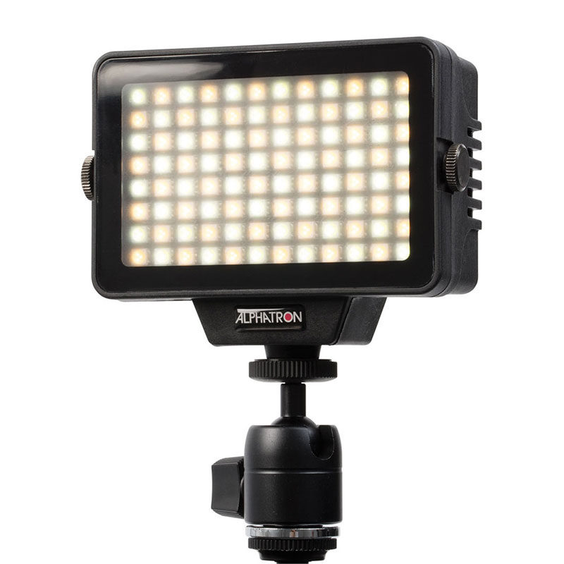 Afbeelding van Alphatron TriStar 4 Bi Color On Camera LED Lamp