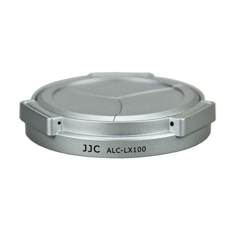 Foto van JJC ALC-LX100 Automatische Lensdop voor Panasonic DMC-LX100 - Zilver