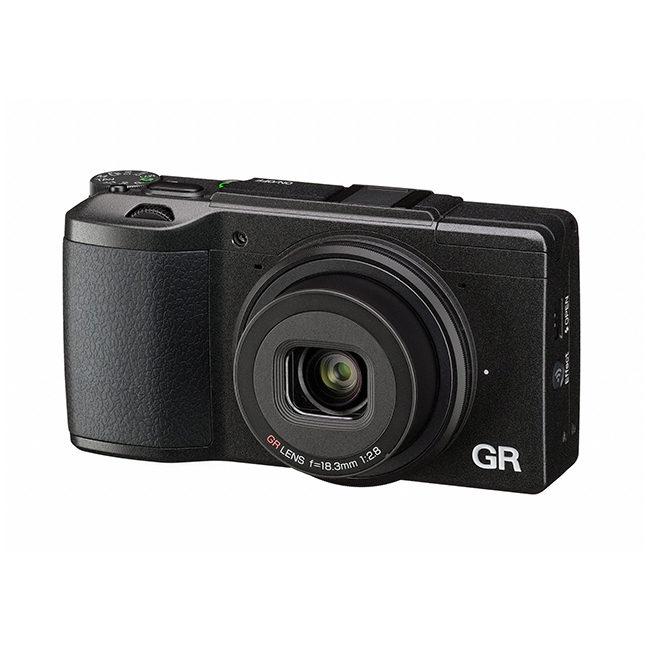 Foto van Ricoh GR II compact camera Zwart
