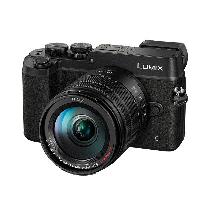Panasonic DMC-GX8 systeemcamera Zwart + 14-140mm