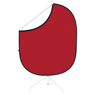 Foto van Savage 2-zijdige Opvouwbare Achtergrond 152x183cm (Matador Red/White)