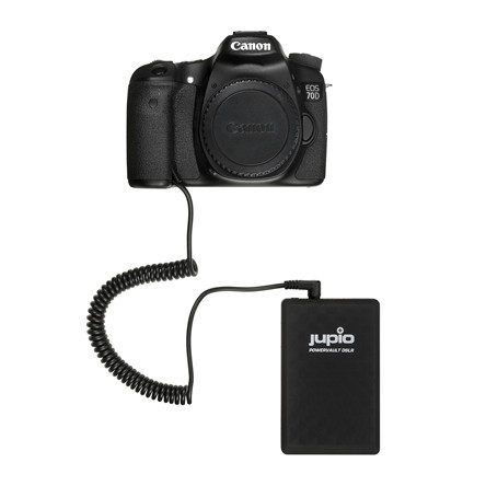 JUPIO POWERVAULT DSLR CANON LP-E6