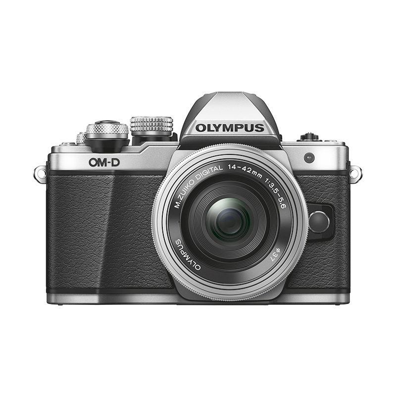 Olympus OM-D E-M10 Mark II + ED 14-42mm f-3.5-5.6 EZ Zilver