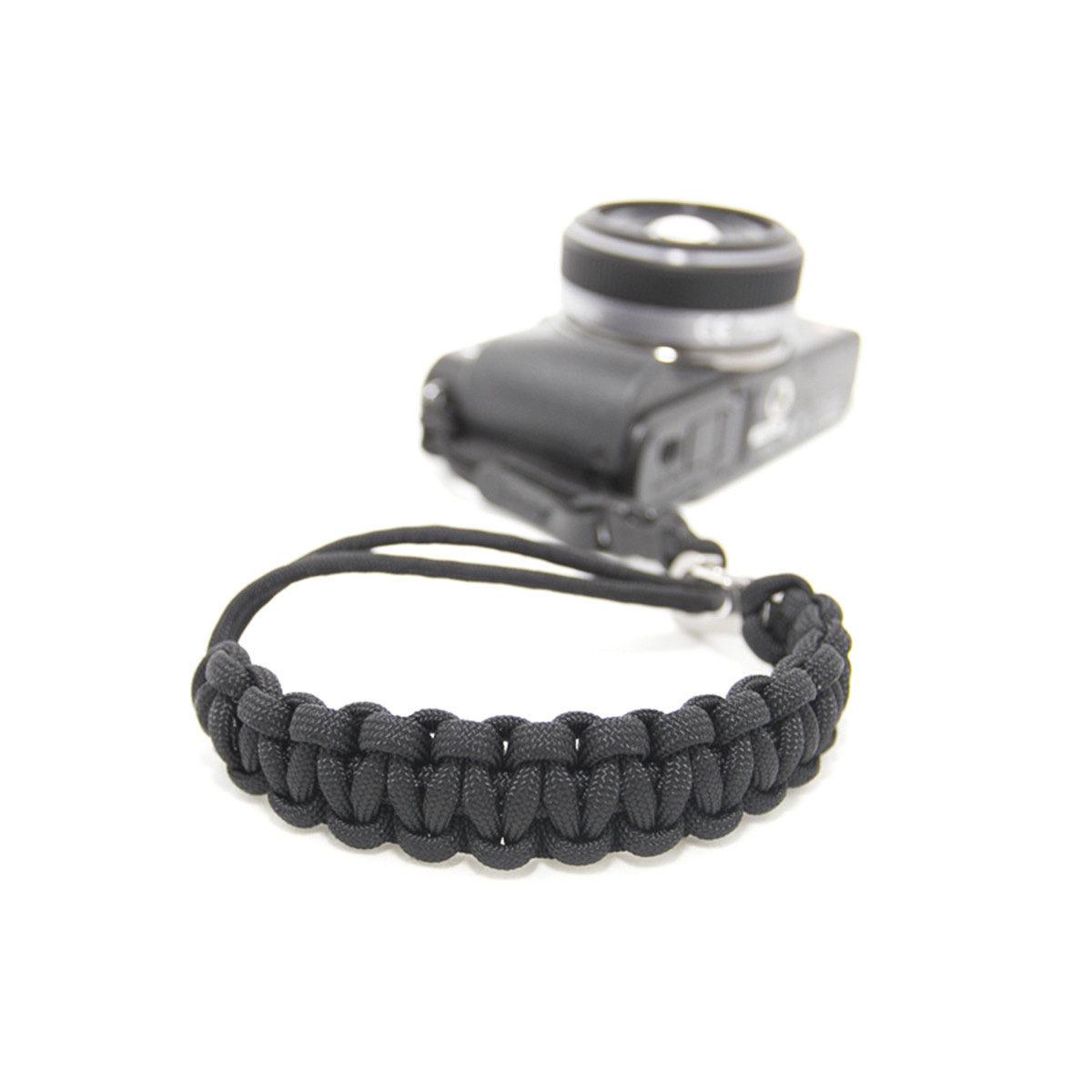 Afbeelding van DSPTCH Camera Wrist Strap Black/Stainless Steel