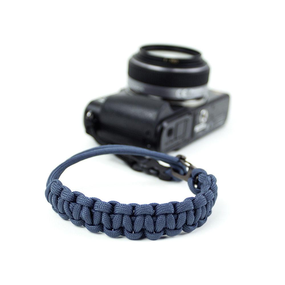 DSPTCH Camera Wrist Strap - Blue/Gunmetal