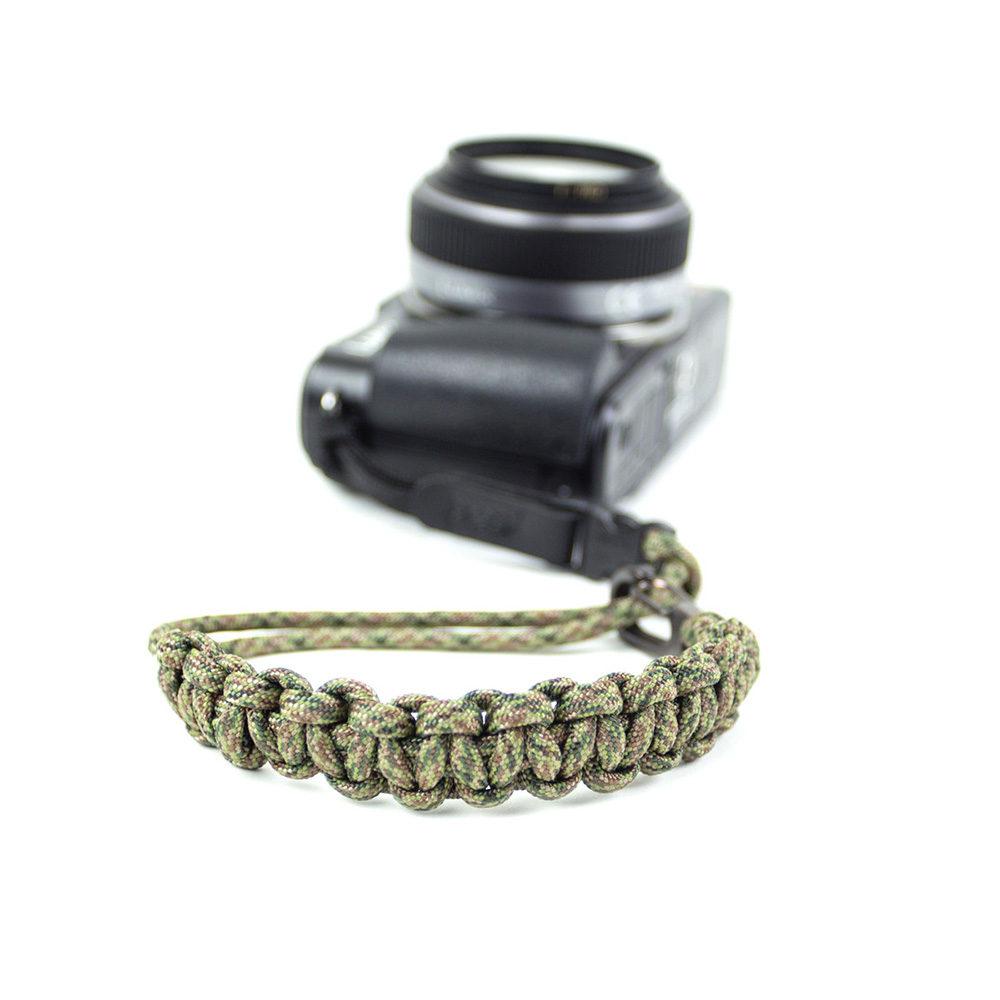 DSPTCH Camera Wrist Strap - Digi Camo/Gunmetal