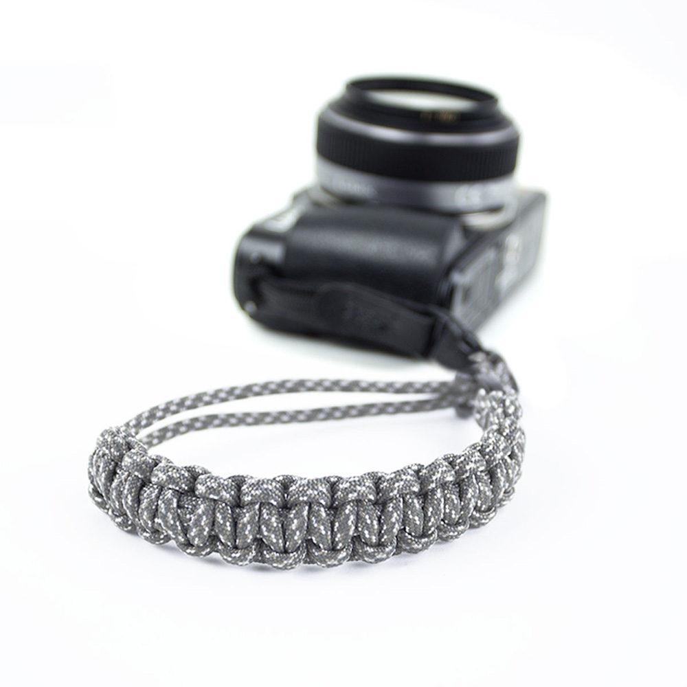 Afbeelding van DSPTCH Camera Wrist Strap Grey Camo/Matte Black