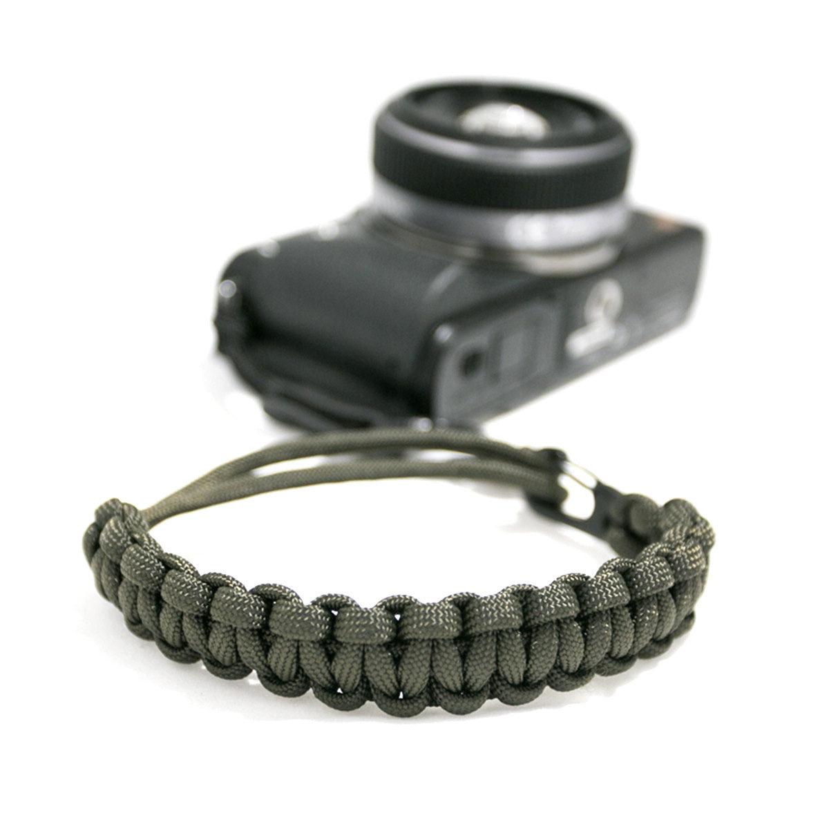 DSPTCH Camera Wrist Strap - Olive/Matte Black