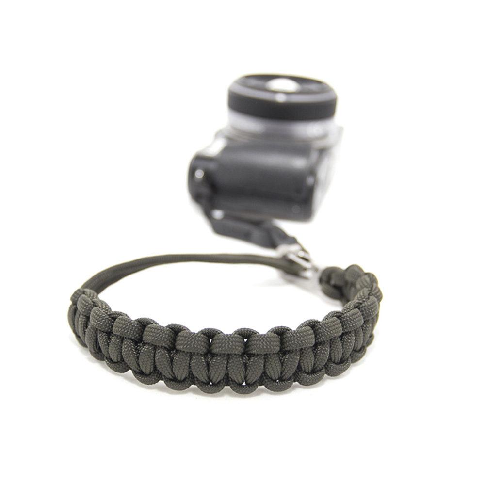 Afbeelding van DSPTCH Camera Wrist Strap Olive/Stainless Steel