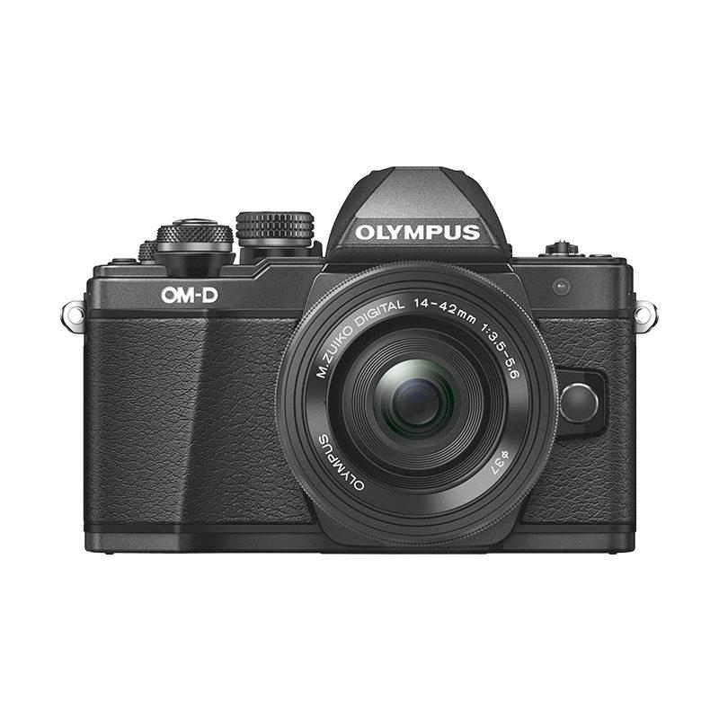 Olympus OM-D E-M10 Mark II systeemcamera Zwart + 14-42mm EZ