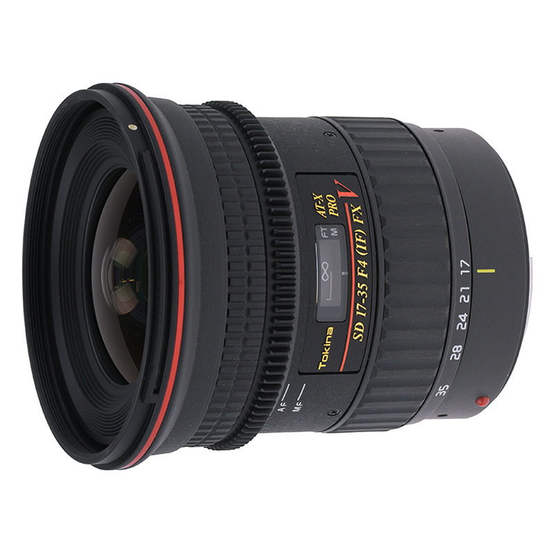 Foto van Tokina AT-X 17-35mm f/4.0 PRO FX V Canon objectief