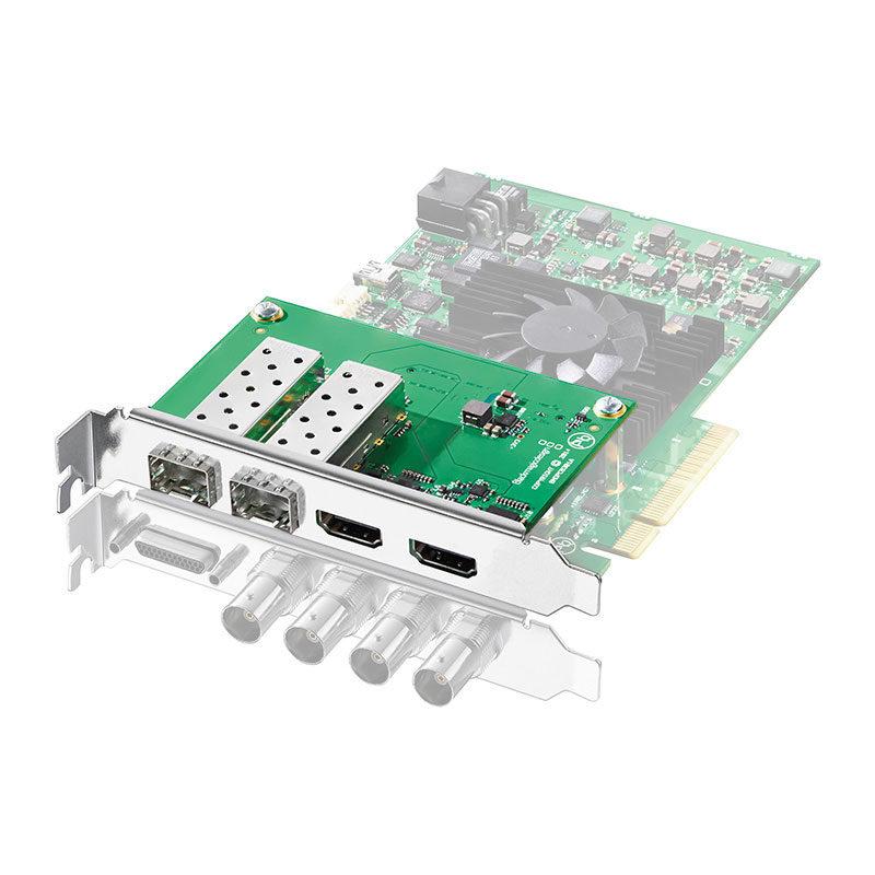 Image of Blackmagic Optical Fiber dochterbord HDMI 2.0 voor DeckLink 4K Extreme 12G