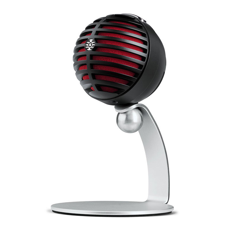 Foto van Shure MV5 Digital Condenser microfoon Zwart