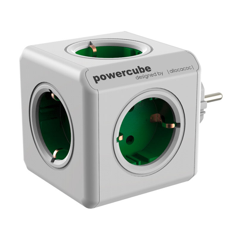 Image of Allocacoc PowerCube Original Green