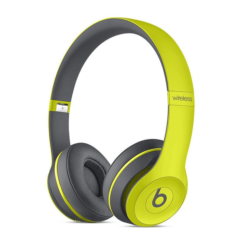 Beats Bluetooth On Ear Koptelefoon Vouwbaar, Headset Geel, Grijs
