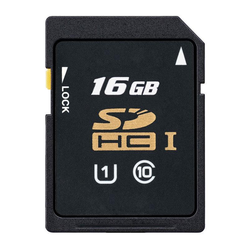 Foto van SDHC 16GB class 10 geheugenkaart