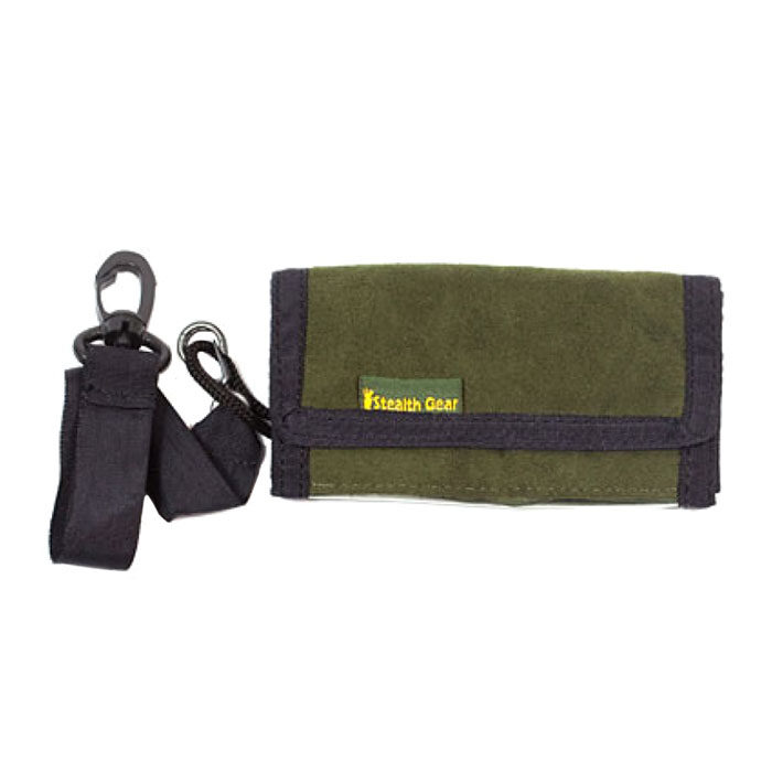 Stealth Gear Extreme Compact Flash Cardholder/Wallet Forest Green