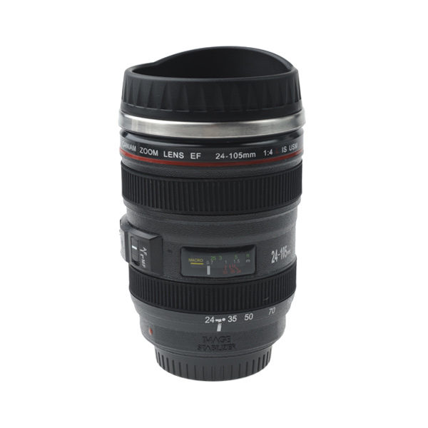 Drinkbeker 24-105 lens met dop