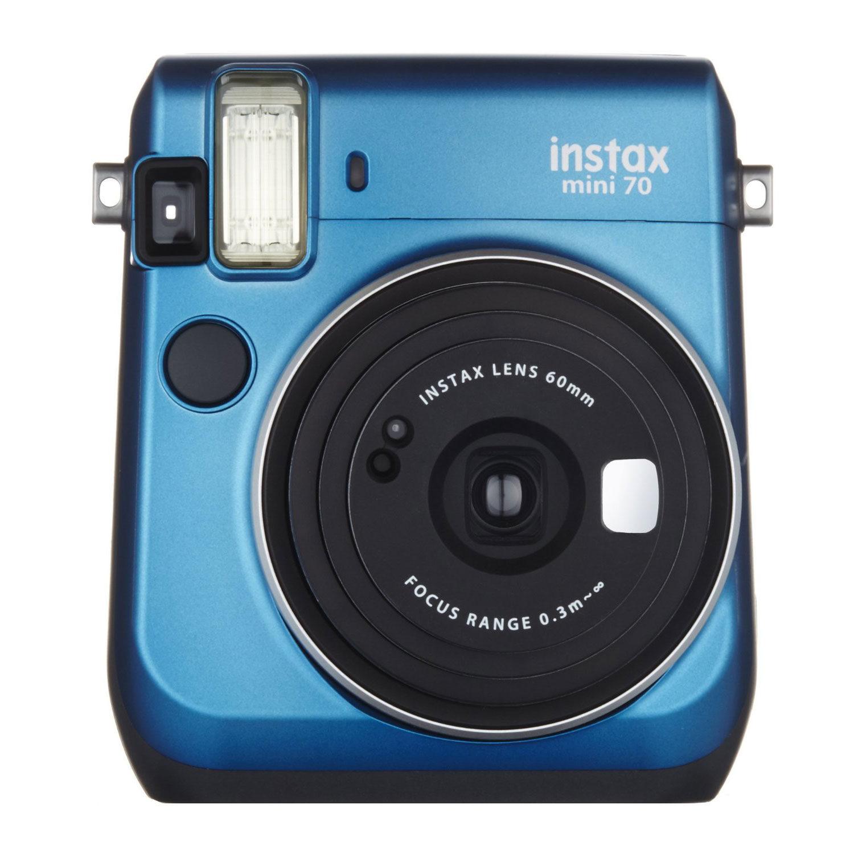 Fujifilm Instax Mini 70 Island Blue instant camera met korting