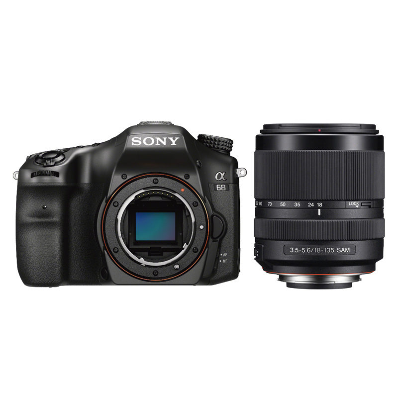 Sony Alpha SLT A68 DSLR + 18-135mm <br/>€ 849.00 <br/> <a href='https://www.cameranu.nl/fotografie/?tt=12190_474631_241358_&r=https%3A%2F%2Fwww.cameranu.nl%2Fnl%2Fp831355%2Fsony-alpha-slt-a68-dslr-18-135mm%3Fchannable%3De10841.ODMxMzU1%26utm_campaign%3D%26utm_content%3DSony%2Bspiegelreflexcamera%26utm_source%3DTradetracker%26utm_medium%3Dcpc%26utm_term%3DDigitale%2Bcamera%26apos%3Bs' target='_blank'>naar de winkel</a>