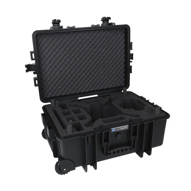 Ontdek alles over de B&W Copter Case Type 6700 Black Hardfoam voor DJI Phantom 3