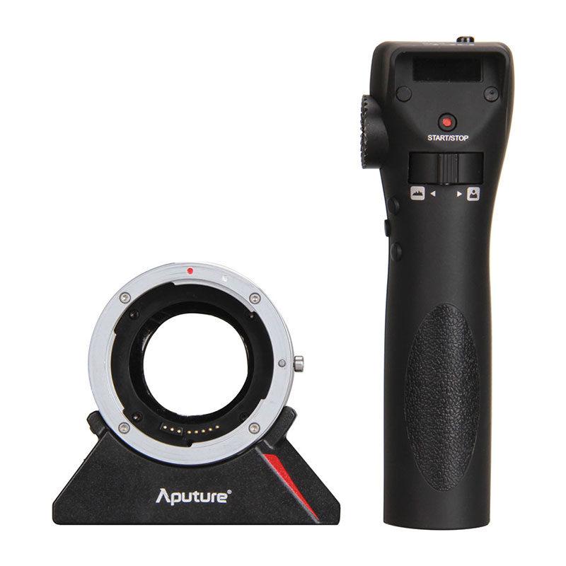Foto van Aputure DEC Wireless Remote Follow Focus Lens Mount Adapter Canon EF/EF-S naar MFT