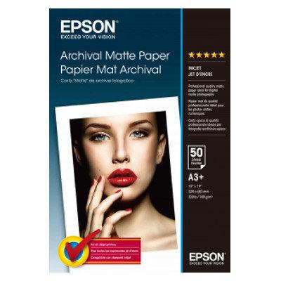 Foto van Epson Archival Matte Paper, DIN A3+, 189g/m², 50 Sheets