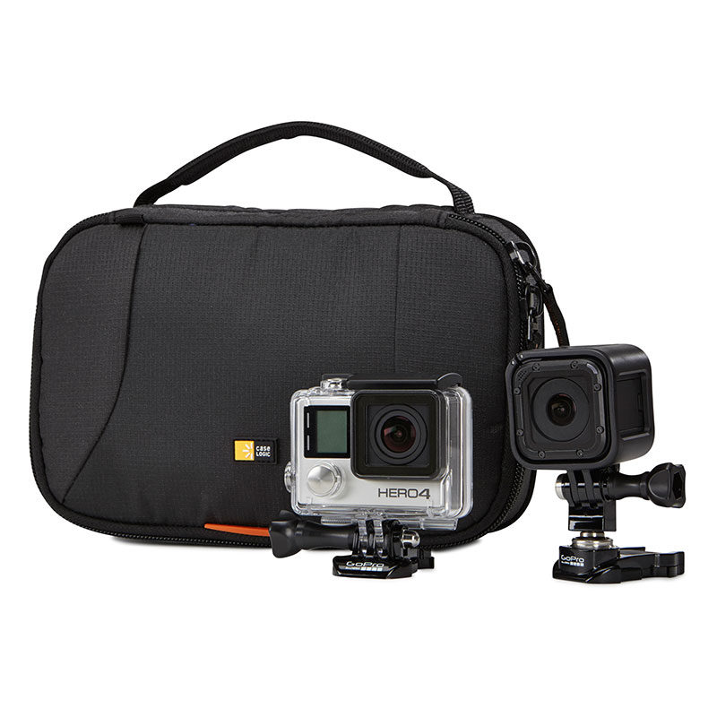 Case Logic, Slrc Action Cam Case For 2 Action Cams Gopro