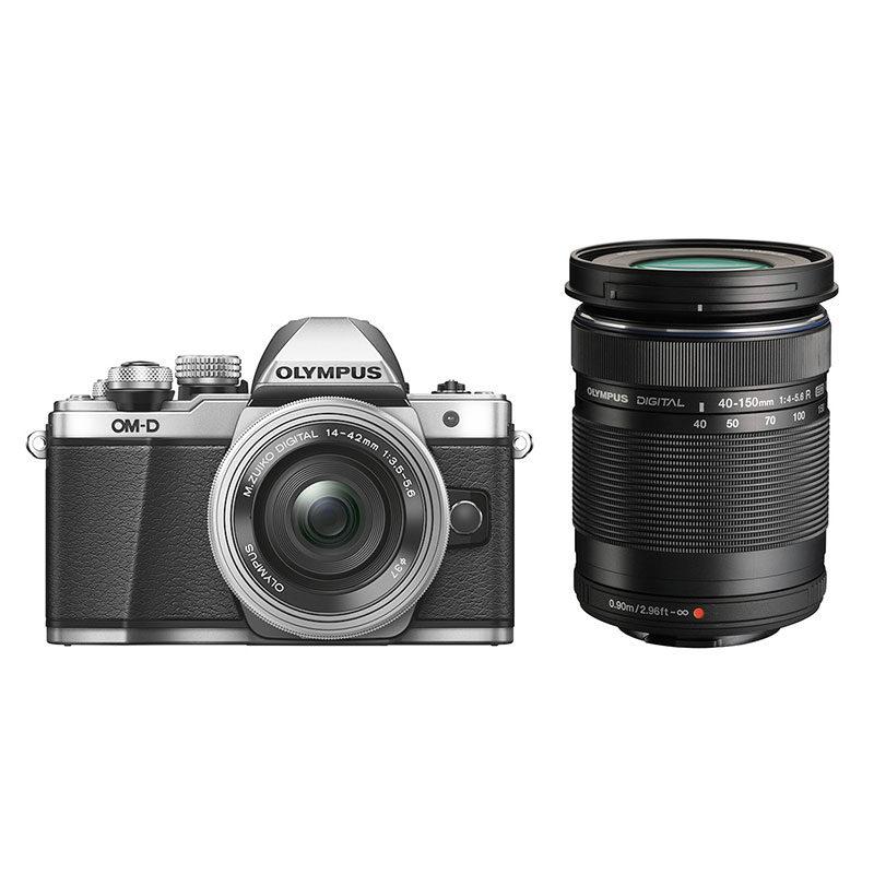 Olympus OM-D E-M10 Mark II systeemcamera Zilver + 14-42mm EZ Zilver + 40-150mm Z <br/>€ 675.00 <br/> <a href='https://www.cameranu.nl/fotografie/?tt=12190_474631_241358_&r=https%3A%2F%2Fwww.cameranu.nl%2Fnl%2Fp866585%2Folympus-om-d-e-m10-mark-ii-systeemcamera-zilver-14-42mm-ez-zilver-40-150mm-zwart%3Fchannable%3De10841.ODY2NTg1%26utm_campaign%3D%26utm_content%3DOM-D%2Bserie%26utm_source%3DTradetracker%26utm_medium%3Dcpc%26utm_term%3DDigitale%2Bcamera%26apos%3Bs' target='_blank'>naar de winkel</a>