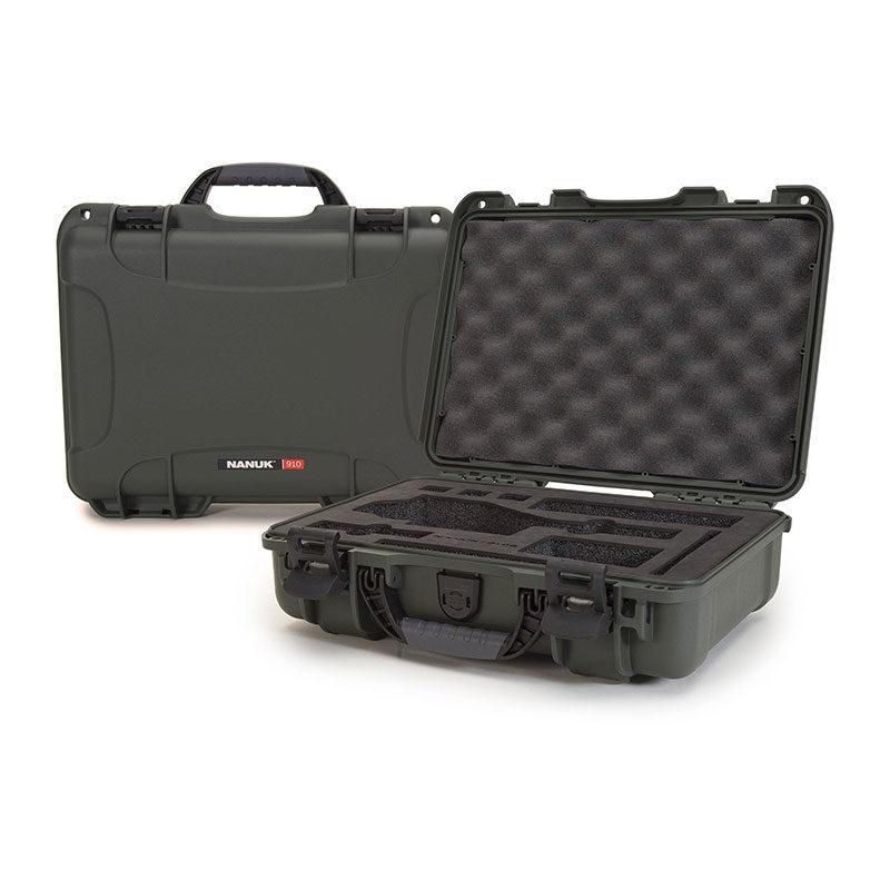Foto van Nanuk Protective Case 910 DJI Osmo koffer Olive