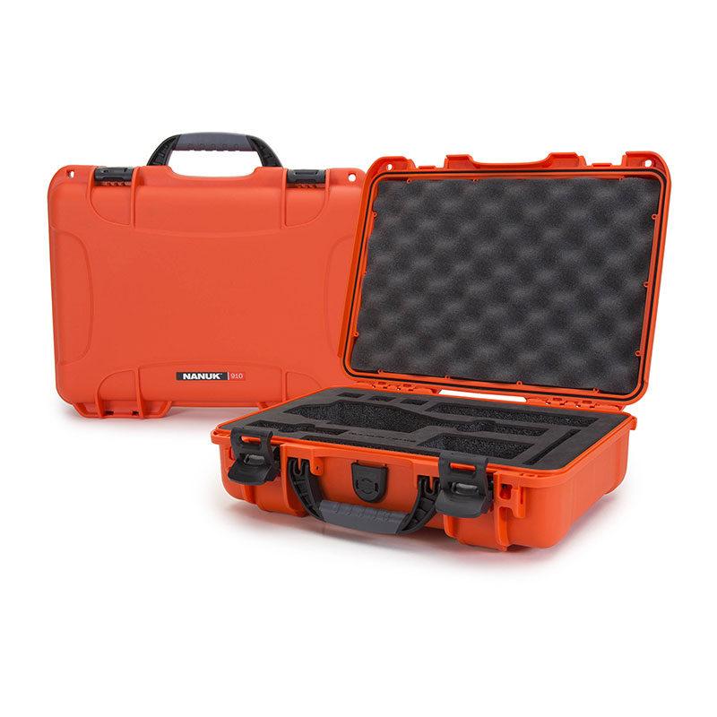 Foto van Nanuk Protective Case 910 DJI Osmo koffer Oranje