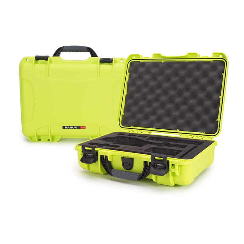 Foto van Nanuk Protective Case 910 DJI Osmo koffer Lime