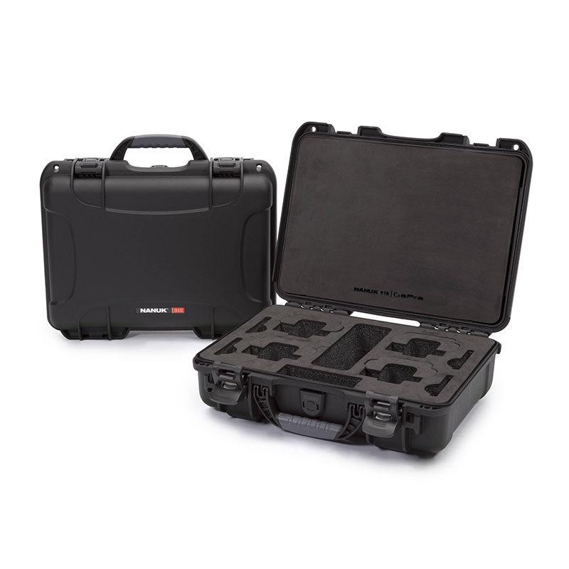 Foto van Nanuk Protective Case 910 GoPro koffer Zwart