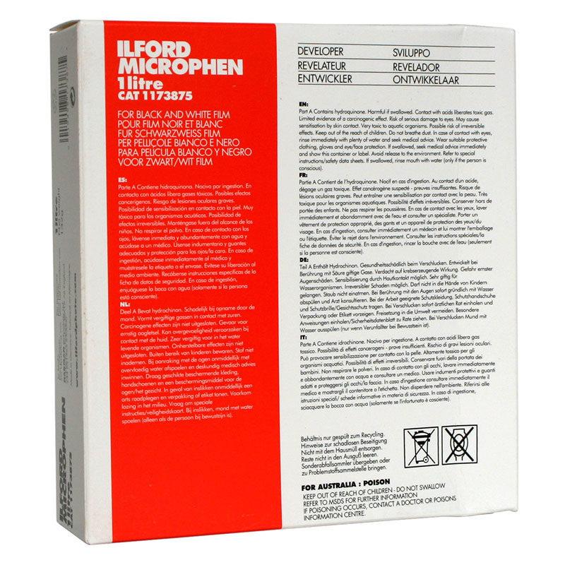 Ilford Microphen zwart-wit filmontwikkelaar 1 liter