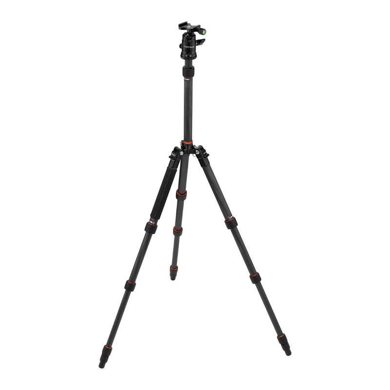 Foto van Rollei Fotopro Compact Traveller No. 1 Carbon statief Zwart