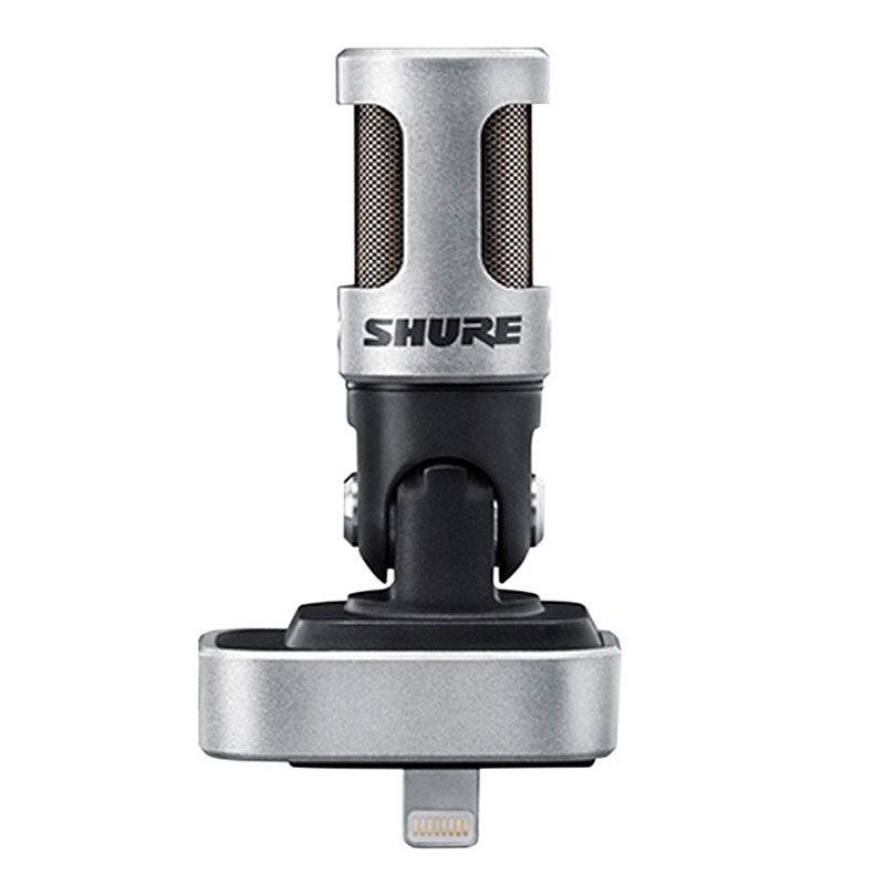 Foto van Shure Motiv MV88 iOS Digital Stereo Condenser microfoon