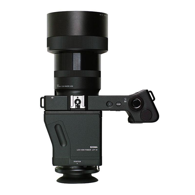 Sigma DP3 Quattro compact camera + LVF-01 viewfinder