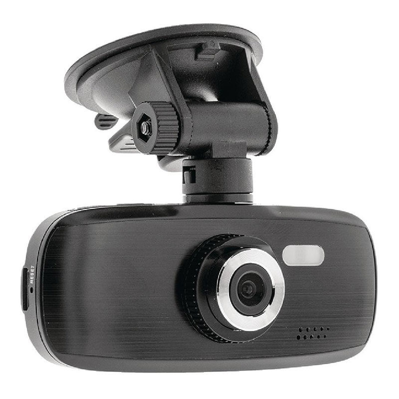 König Full HD dashcam zuignap zwart