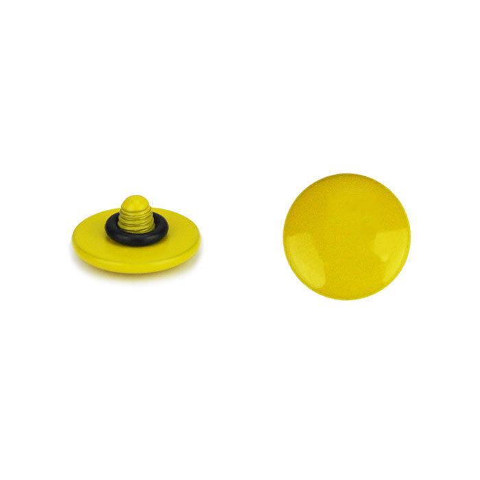JJC Soft Release Button 10mm Geel