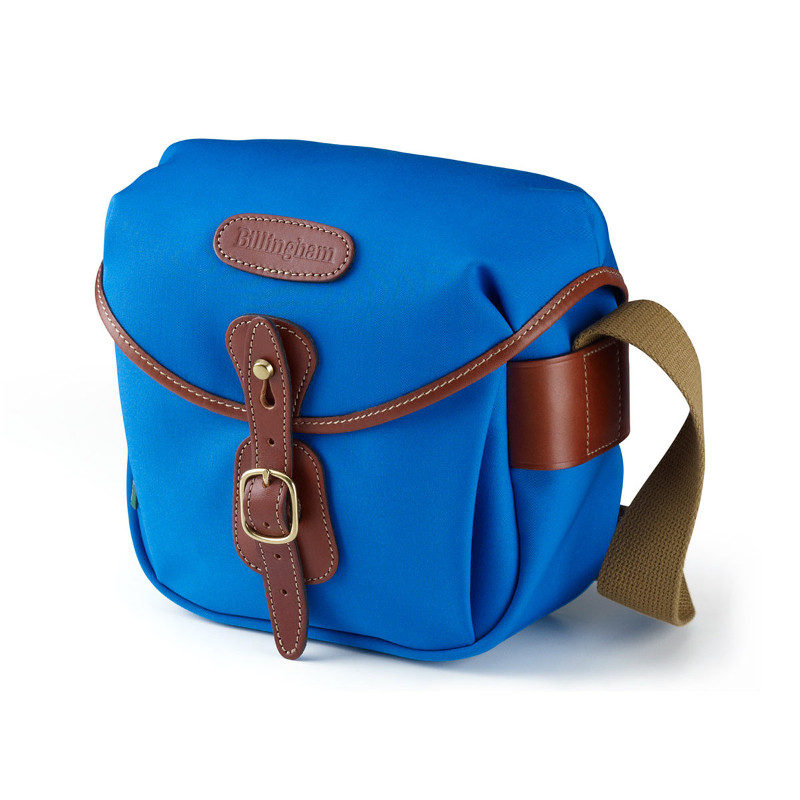 Foto van Billingham Hadley Digital Blue/Tan