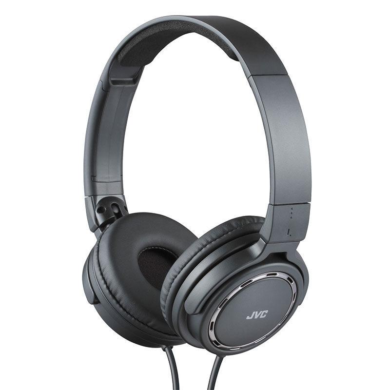 Foto van JVC HA-S520 On-Ear koptelefoon Zwart