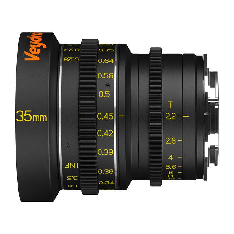 Foto van Veydra Mini Prime 35mm T2.2 Sony E objectief