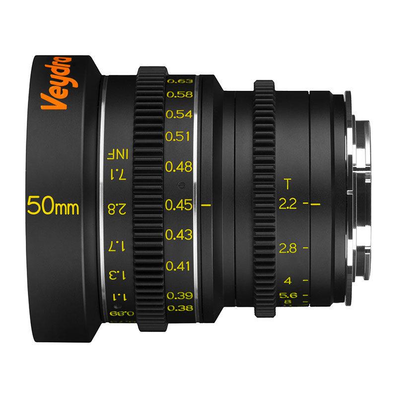 Foto van Veydra Mini Prime 50mm T2.2 Sony E objectief