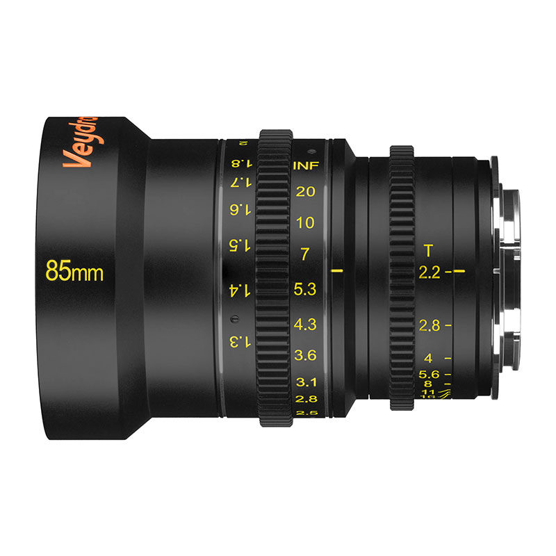 Foto van Veydra Mini Prime 85mm T2.2 Sony E objectief