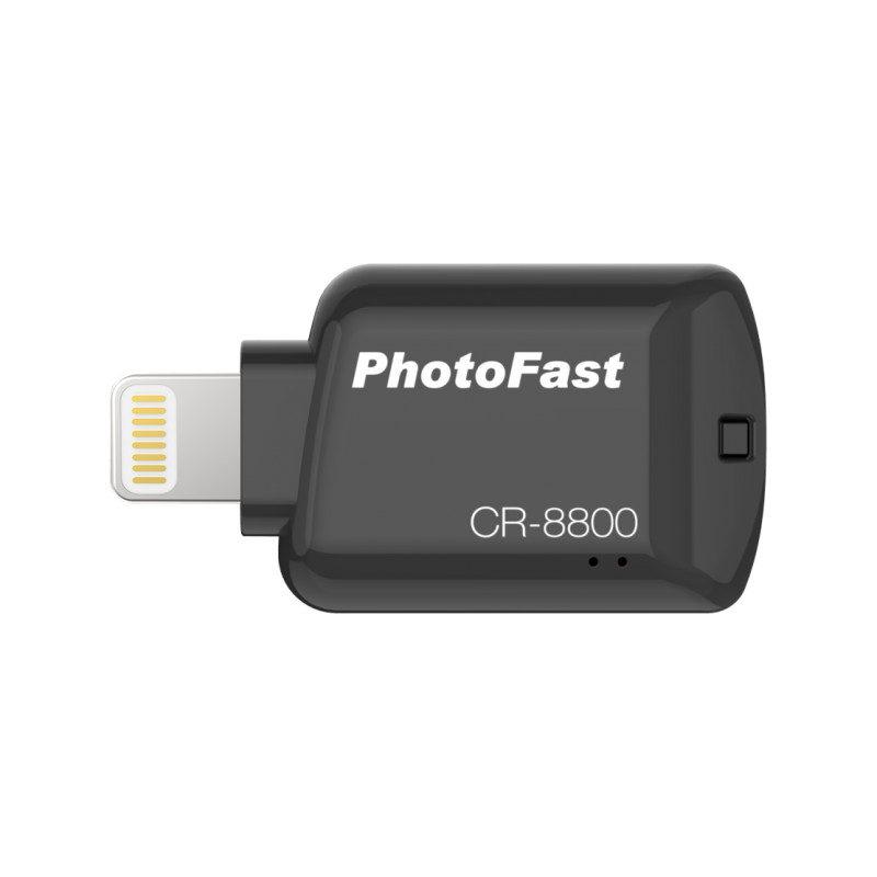 Foto van PhotoFast CR-8800 iOS micro SD-kaartlezer Zwart