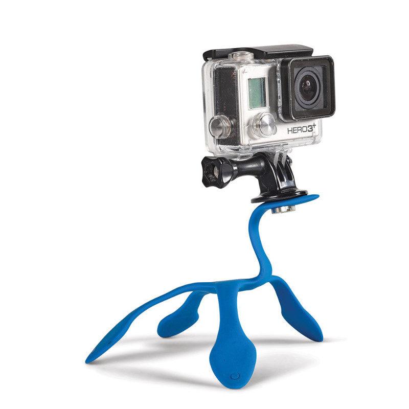 Miggo Splat Flexible Tripod blauw voor Action Cam