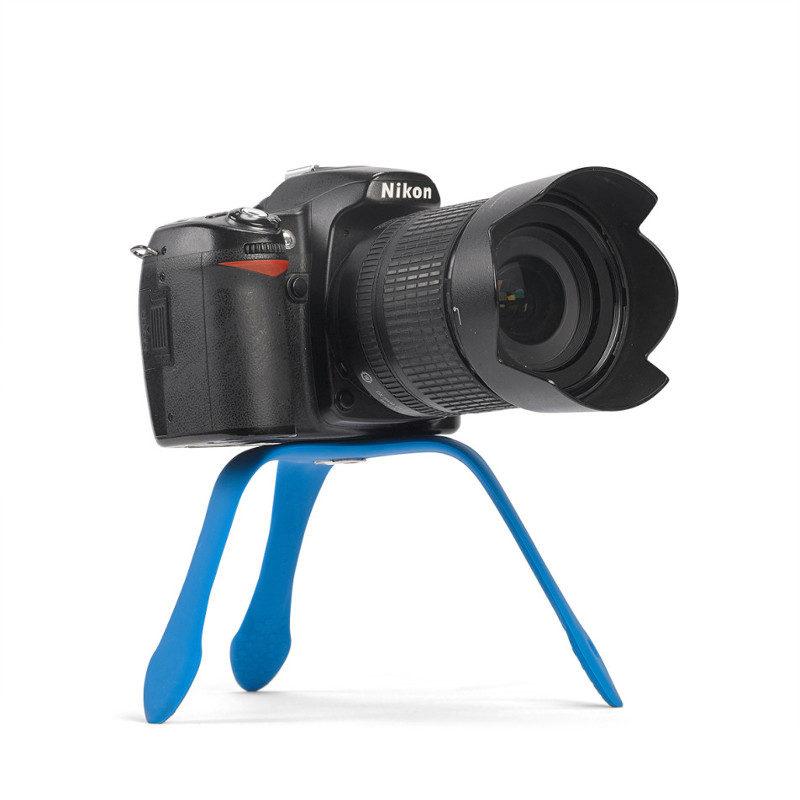 Foto van Miggo Splat Flexible Tripod voor DSLR Blauw