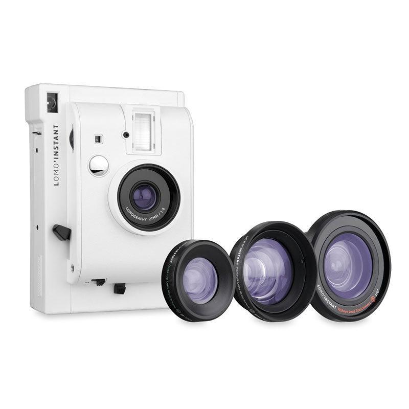 Foto van Lomography Lomo'Instant Mini camera Wit + 3 Lenzen
