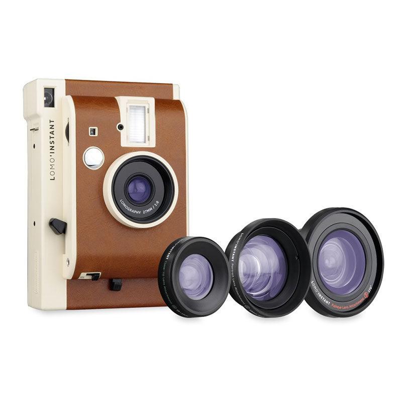 Lomography Lomo'Instant Mini camera San Remo + 3 Lenzen