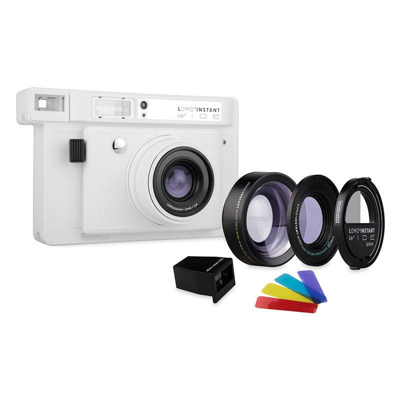 Foto van Lomography Lomo'Instant Wide Combo camera Wit